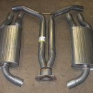 Y Pipe and 2 Mufflers 1985 Chevrolet Corvette Vette