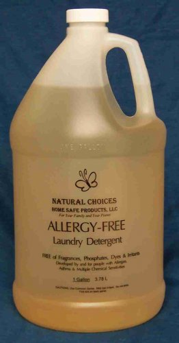 Allergy-free  Liquid Laundry Detergent 1 Gallon