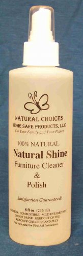 Natural Shine Wood Cleaner & Polish  8 Onces