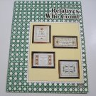 "Cross Stitch Leaflet - ""Relatives Who Count"" - by Canterbury Designs"