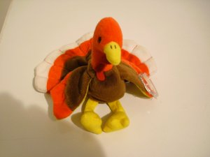 Original TY Beanie Baby - Gobbles - November 27, 1996