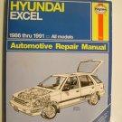 1986 - 1991 Hyundai Excel - Haynes Auto Repair Manual