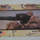 Desert Storm Collectible Card - Card # 219 - Pro Set - Mint