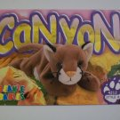 TY Beanie Baby Card # 69 Canyon the Cougar - Style #4212