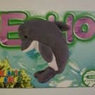TY Beanie Baby Card #84 Echo the Dolphin - Style # 4180