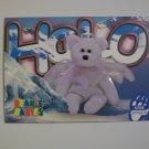 TY Beanie Baby Card # 94 Halo the Bear - Style # 4208
