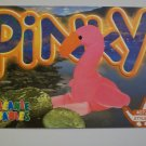 TY Beanie Baby Card # 115 Pinky the Flamingo - Style # 4072