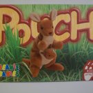 TY Beanie Baby Card # 116 Pouch the Kangaroo - Style # 4161