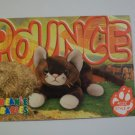 TY Beanie Baby Card # 117 Pounce the Cat - Style # 4122