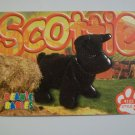 TY Beanie Baby Card # 129 Scottie the Scottish Terrier - Style # 4102