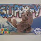 TY Beanie Baby Card # 132 Slippery the Seal - Style # 4222