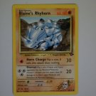 Blaine's Rhyhorn 60 HP - LV. 26 # 111