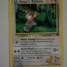 Lt. Surge's Rattata 30 HP - LV. 7 # 19