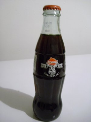 Krystal's 75th Anniversary Coke Bottle (Single) 2007
