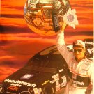 "Dale Earnhardt Holding a Trophy Picture - 9 1/2"" x 12"""