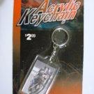 Dale Earnhardt Acrylic Keychain *NIP*