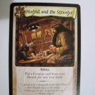 "Harry Potter ""Hagrid And The Stranger"" Trading Card 89/116"