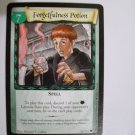 "Harry Potter ""Forgetfulness Potion"" Trading Card 86/116"