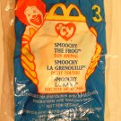 McDonald&#39;s TY Beanie #3 &quot;Smoochy The Frog&quot; 1999
