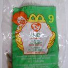 McDonald&#39;s TY Beanie #9 &quot;Claude The Crab&quot; 1999