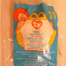 "McDonald's TY Beanie #11 ""Nook The Husky"" 1999"