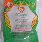 """McDonald's TY Beanie #12 """"Schweetheart The Orangutan"""" 2000"""