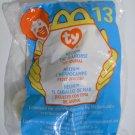 "McDonald's TY Beanie #13 ""Neon The Seahorse"" 2000"