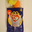 "McDonald's TY Beanie #4 ""Inch The Worm"" 1998"