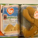 "McDonald's TY Beanie #10 ""Humphrey"" The Camel 2000"