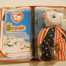"McDonald's TY Beanie #7 ""Spangle"" The Bear 2000"