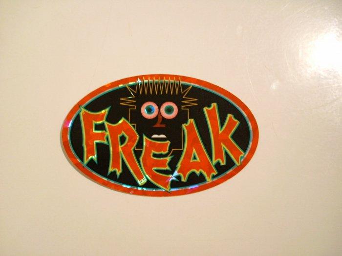 """""""Freak"""" Sticker"""