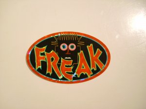 """Freak"" Sticker"