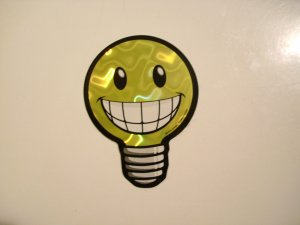 Bright Idea? Sticker