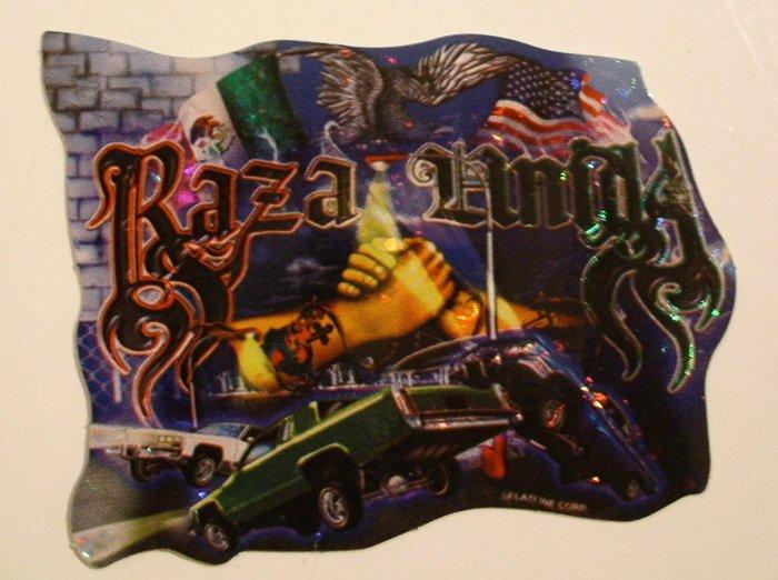 Raza Amiga Sticker