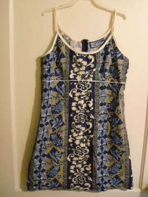 Miken Spaghetti Strap Short Dress - Sz Juniors M