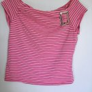 Younique Pink & Black shirt - Size Juniors Large