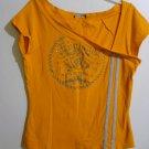 "Topia Orange Shirt ""England Angel"" Size Junior Medium"