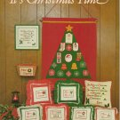 """It's Christmas Time"" by Sara Murray - Counted Cross Stitch book"