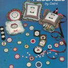 """Mini Yuletide Messages"" By Dafni - Counted Cross Stitch Leaflet"