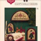 """Happy Holly Deers"" by Renee Nanneman - Counted Cross Stitch Leaflet"