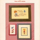 """Special Boys"" By Rose Anne Hobbs - Cross Stitch Leaflet"