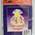 2 Pack Bag A Basket - 22 in x 26 in - *NIP*