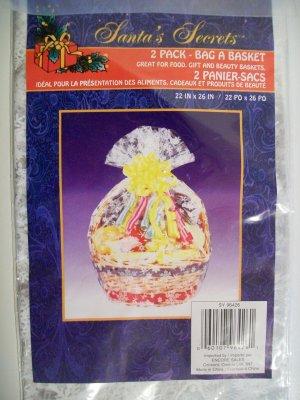 2 Pack Bag A Basket - 22 in x 26 in - *NIP*