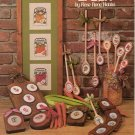 """The Wooden Spoon"" By Rose Anne Hobbs Counted Cross Stitch Leaflet"