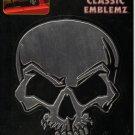Auto Art Decal Classic Emblemz/ Chrome Skull