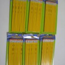 (6) 10 Pack Yellow #2 Pencils