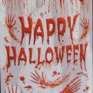 """42"""" X 72"""" Bloody """"Happy Halloween"""" Mural - *NIP* - Halloween Prop/Decoration"""