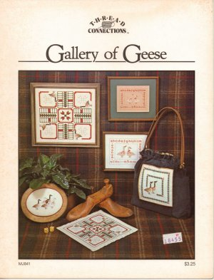 """Gallery Of Geese"" - Counted Cross Stitch Leaflet"