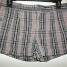 Piper & Blue Plaid Shorts - Size 7
