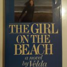 The Girl On The Beach By Velda Johnston - 1987- Hardcover w/jacket - 1st Edition